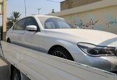 یک خودروی قاچاق به ارزش 5 میلیارد تومان در جهرم توقیف شد
