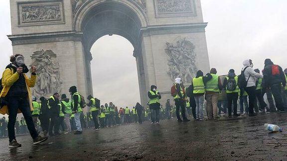 پلیس فرانسه مجاز به استفاده از گاز اشک آور علیه جلیقه زردها شد / جلیقه زردها آماده دهمین هفته اعتراضات علیه دولت فرانسه