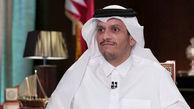 وزیر خارجه قطر با همتای کویتی خود دیدار کرد