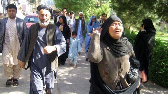 دستگیری مهاجران افغان در ترکیه