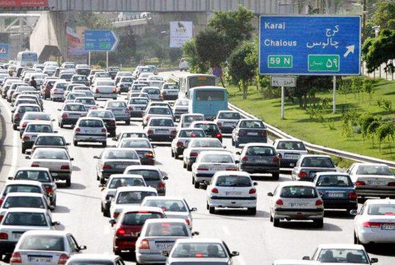 افزایش ۹ درصدی ترددهای جاده ای علی رغم شیوع کرنا