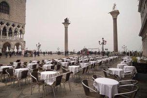 قطب گردشگری ایتالیا به شهر مردگان تبدیل شد/ونیز  شهر بدون گردشگر