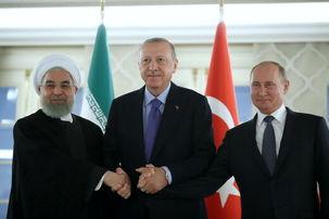 بیانیه  مشترک نشست سه جانبه درباره سوریه منتشر شد+  متن