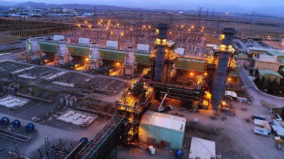 واحد بخار نیروگاه سیکل ترکیبی فردوسی بهرهبرداری شد