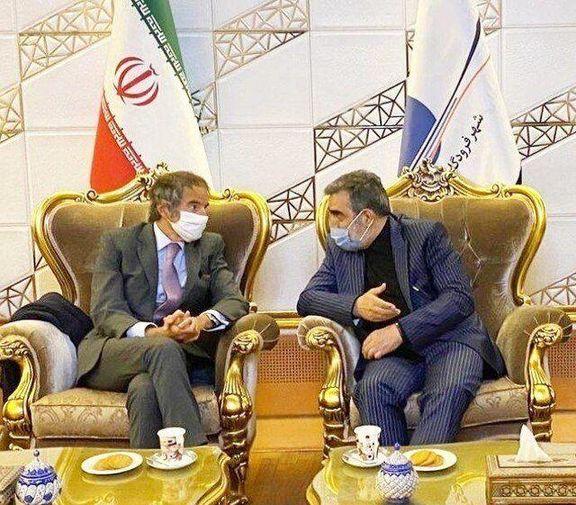 رافائل گروسی در صدر یک هیئت بلندپایه وارد تهران شد