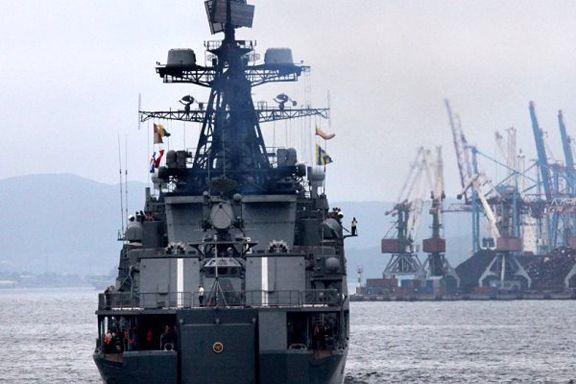 آغاز رزمایش دریایی روسیه و ژاپن در خلیج عدن