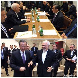 جواد ظریف در نیویورک با وزیر امور خارجه چین دیدار کرد
