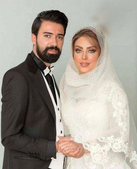 نیلوفر شهیدی بازیگر سریال گاندو  ازدواج کرد