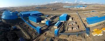 رئیس جمهور واحد تولید کنسانتره صنایع معدنی فولاد سنگان را افتتاح کرد