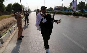 مراسم تشییع شهدای حادثه تروریستی در اهواز برگزار شد + فیلم