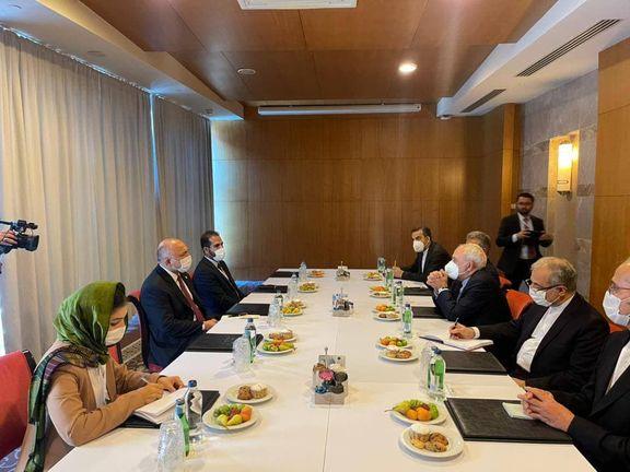 دیدار ظریف با وزیر امور خارجه افغانستان
