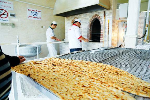 رئیس اتحادیه نانوایان تهران: قیمت نان افزایش یافته اما فعلا اعلام نمیشود