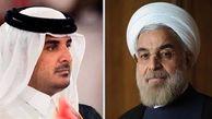 تماس تلفنی روحانی با امیر قطر/در مسیر تقویت همکاریهای مشترک دو کشور هیچ مانعی نیست