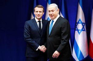 نتانیاهو از مکرون درخواتس کرد تا ایران را تحریم کند