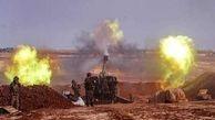 درگیری  میان ارتش ترکیه و سوریه در غرب حلب