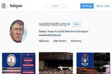 اینستاگرام همچنان صفحات اینستاگرامی را مسدود می کند/مخالفان ترامپ در اینستاگرام جایی ندارند