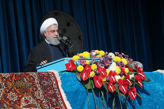 سخنرانی حسن روحانی در شاهرود + ویدئو