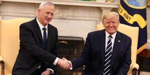 دیدار ترامپ و بنی گانتز در کاخ سفید