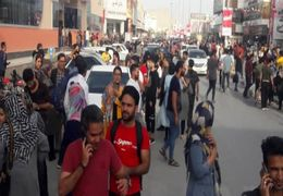 تصاویری از وضعیت مردم وحشت زده لافت بعد از زلزله 5.8 ریشتری+ فیلم