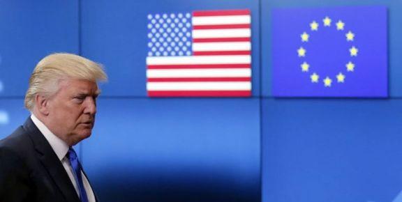 موضعگیری ترامپ از سختگیری اتحادیه اروپا در قبال برگزیت