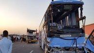 واژگونی اتوبوس در کیلومتر ۴۸ اتوبان قم-تهران/ 13 کشته و مصدوم برجای گذاشت+ اسامی مصدومان