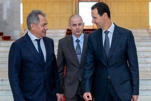 دیدار اعلام نشده وزیر دفاع روسیه با بشار اسد
