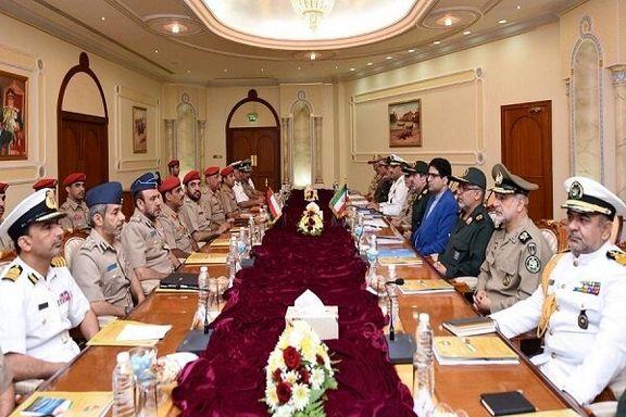 آغاز پانزدهمین نشست کمیسیون مشترک نظامی ایران و عمان