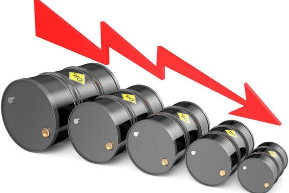 قیمت نفت به زیر ۶۰ دلار  رسید