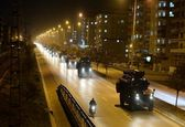 نفربرهای زرهی ارتش ترکیه به نزدیکی مرز سوریه اعزام  شدند