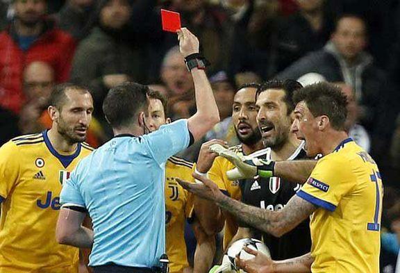 داور بازی رئال مادرید و یوونتوس به مرگ تهدید شد