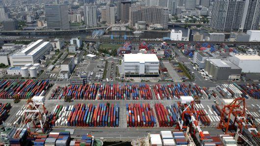صادرات ژاپن برای پنجمین ماه متوالی کاهش یافت