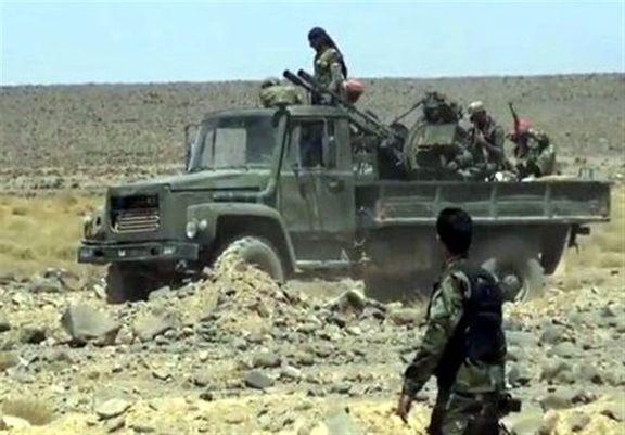 ارتش سوریه آخرین بقایای تروریستهای داعش را غافلگیر کردند
