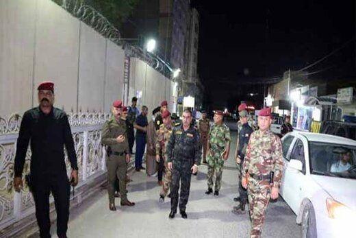 هیئت دیپلماتیک ایرانی در نجف ساختمان کنسولگری را ترک کردند