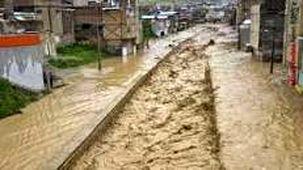سیلاب امروز صبح در شهرستان آزادشهر استان گلستان