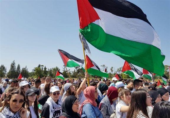 جوانان فلسطینی یک پهباد اسرائیلی را منهدم کردند