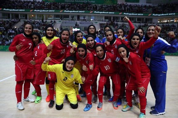 تیم فوتسال بانوان ایران با شکست ژاپن قهرمان جام ملتهای آسیا شد