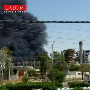 شنیده شدن صدای انفجار از یک نیروگاه در اهواز