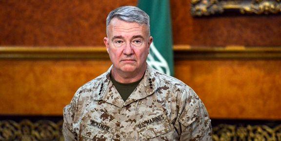فرمانده سنتکام ایران را برای آمریکا تهدیدآمیز خواند/آمریکا نباید نیروهای خود را از عراق خارج کند