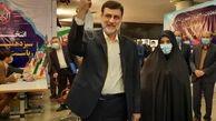 قاضیزاده هاشمی: تا پایان انتخابات ریاست جمهوری در عرصه خواهم ماند