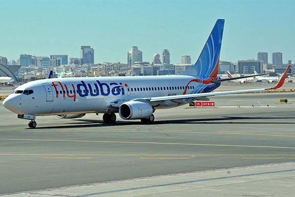 فرود اضطراری هواپیمای باکو-دوبی در خاک ایران