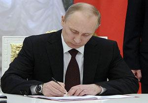 پوتین فرمان برکناری شش ژنرال را صادر کرد