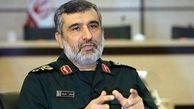 فرمانده سپاه: اگر موشک آمریکاییها به سرزمین ما اصابت کند پایگاهایشان  در قطر و امارات را هدف قرار می دهیم