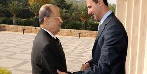 رئیس جمهور لبنان به زودی به دمشق  می رود