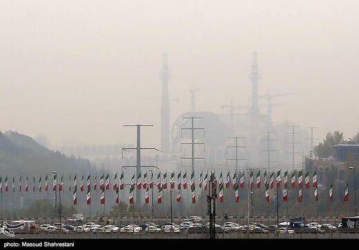 تهران  دومین شهر  آلوده جهان شد