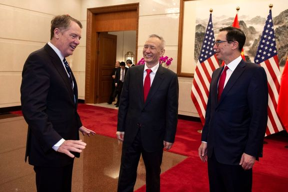 آمریکا و چین مذاکرات تجاری با یکدیگر را ادامه میدهند