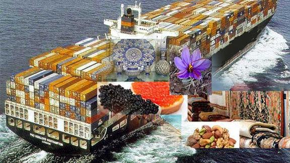میزان صادرات کشور در سال ۹۷