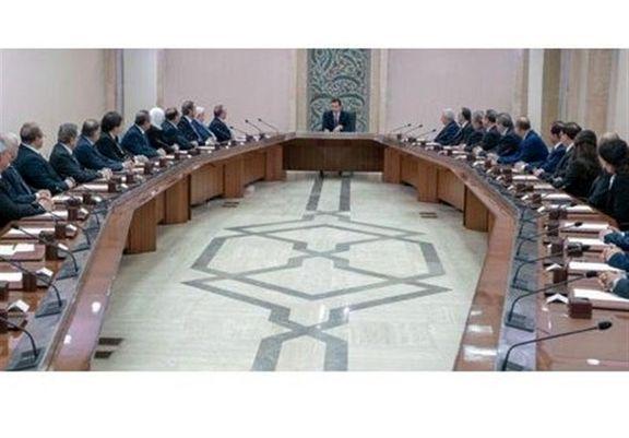 9 وزیر جدید دولت سوریه  در برابر بشار اسد سوگند کردند