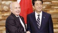 شینزو آبه در توکیو میزبان رئیس جمهور سوئیس شد/گفتگو مائورر با آبه در توکیو