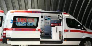 3 دستگاه آمبولانس در پی حوادث اخیر  از مدار خارج شد