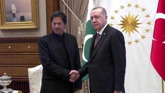 اردوغان در حمایت از پاکستان درآمد